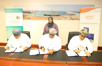 Signs a Usufruct Agreement for the Establishment of Ras Markaz Crude Oil Storage Terminal