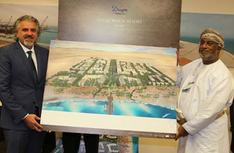 The Signing of a Usufruct Agreement for the Construction of Duqm Beach Resort