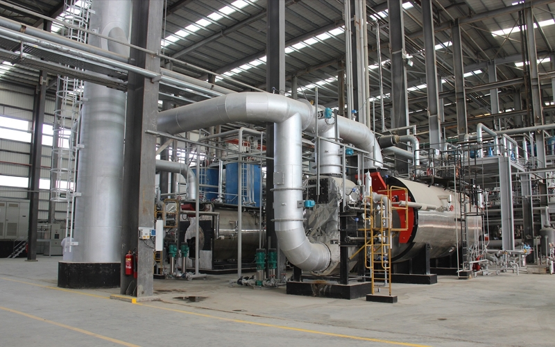 Sebacic acid production refinery (castor oil)