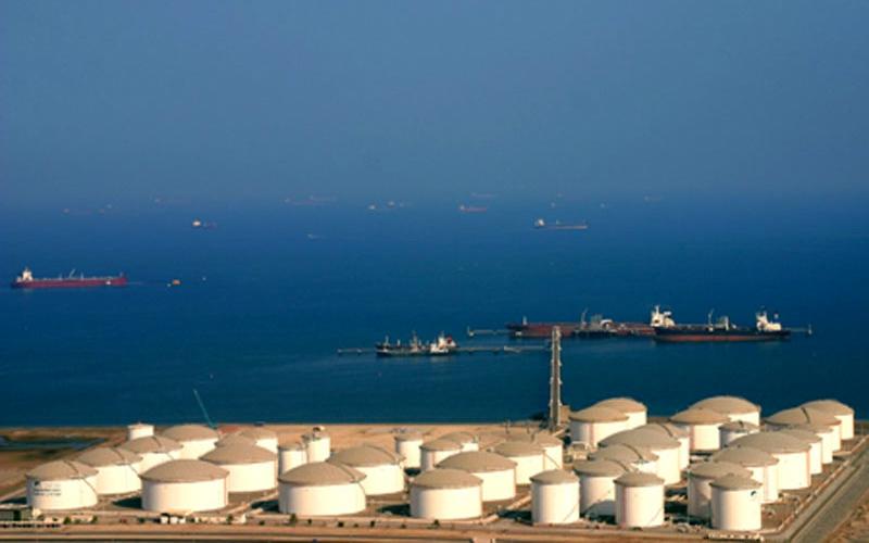 Ras Markaz Oil Storage Terminal